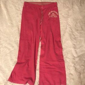 PINK, Pink Pants with Back Pocket Large